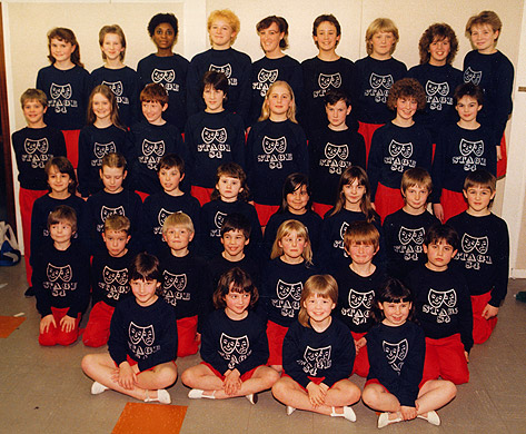 Stage 84 students in 1984