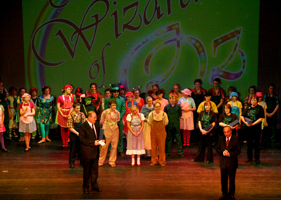 Stage 84 presents The Wizard of Oz in Hamm, Germany