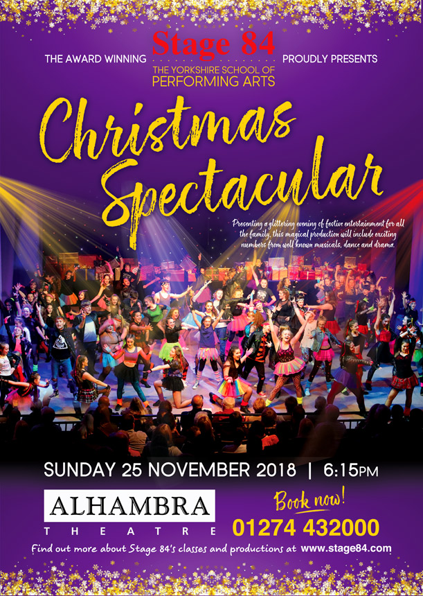 Stage 84 - The Yorkshire School of Performing Arts   Christmas ...