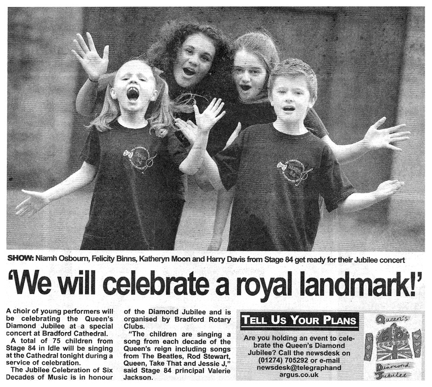 Stage 84 students celebrate a royal landmark